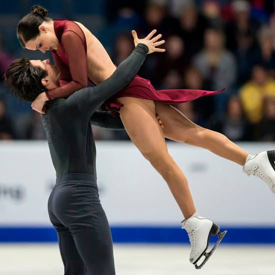 """Ice Dancing Routine to """"Moulin Rouge"""""""