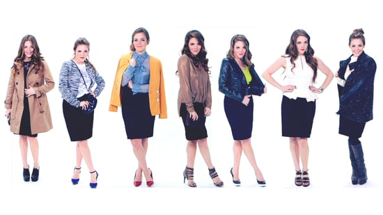 How to Wear a Pencil Skirt | POPSUGAR Fashion