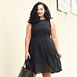 A Simple LBD With a Red Lip