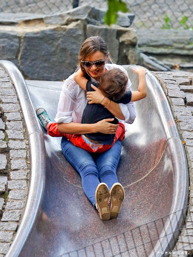 Just When You Thought Miranda and Flynn Couldn't Get Any Cuter