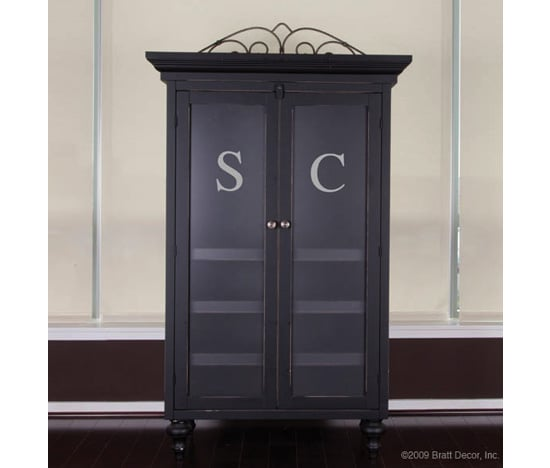 Monogrammed Armoire