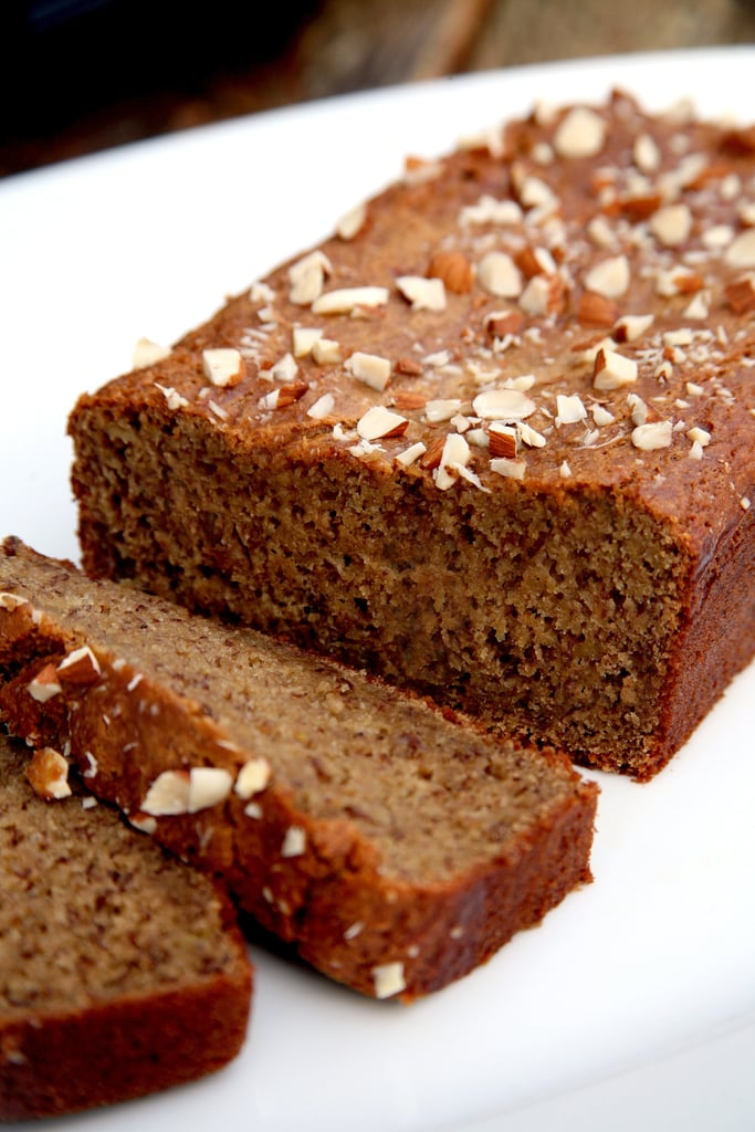 Vegan Banana Almond Bread With Protein