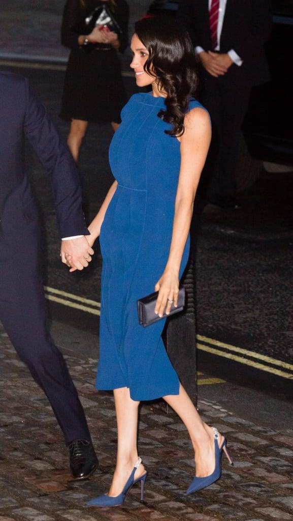 Meghan's Royal Blue Aquazzura Heels