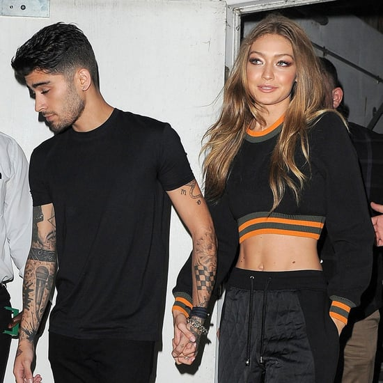 Gigi Hadid and Zayn Malik Out in London September 2016