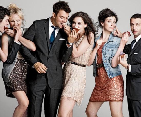 Pictures of Katie Holmes, Josh Duhamel, Adam Brody, and The Romantics Cast Posing For J.Crew