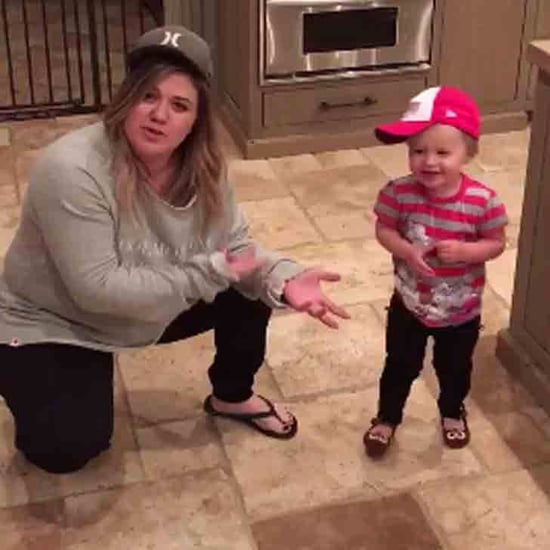 Kelly Clarkson and Daughter River Do the Diabetes Dance Dare