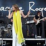 Maggie Rogers Performing at Forecastle Festival on July 13, 2019