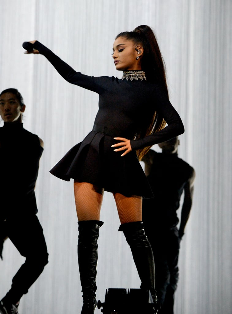 All-Black Everything Ariana
