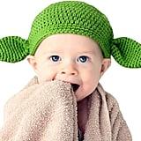 KnitnutbyJL Handmade Star Wars Baby Yoda Hat