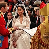 William and Kate at the Altar, 2011