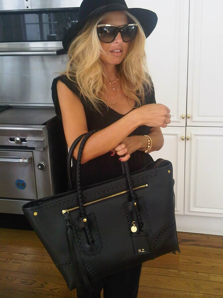 Check Out Rachel Zoe's Super Chic Maternity Style: Alexander McQueen Baby Bag For RZ!