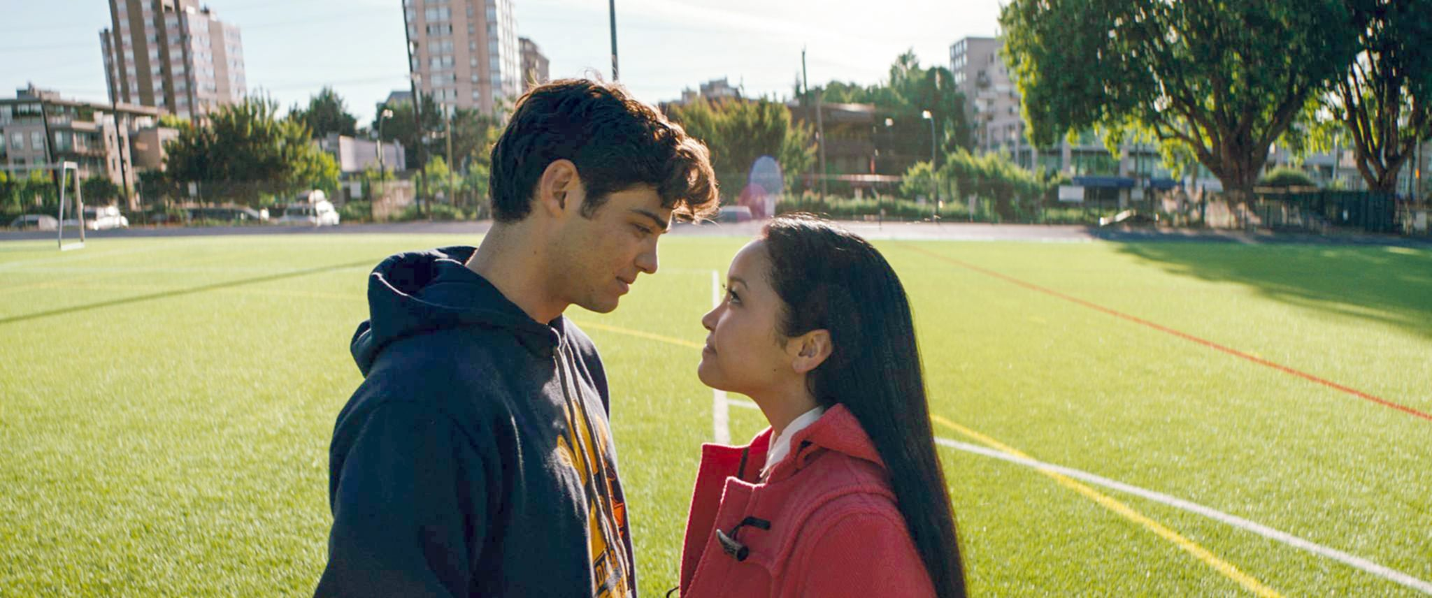 TO ALL THE BOYS I'VE LOVED BEFORE, from left: Noah Centineo, Lana Condor, 2018.  Netflix /Courtesy Everett Collection