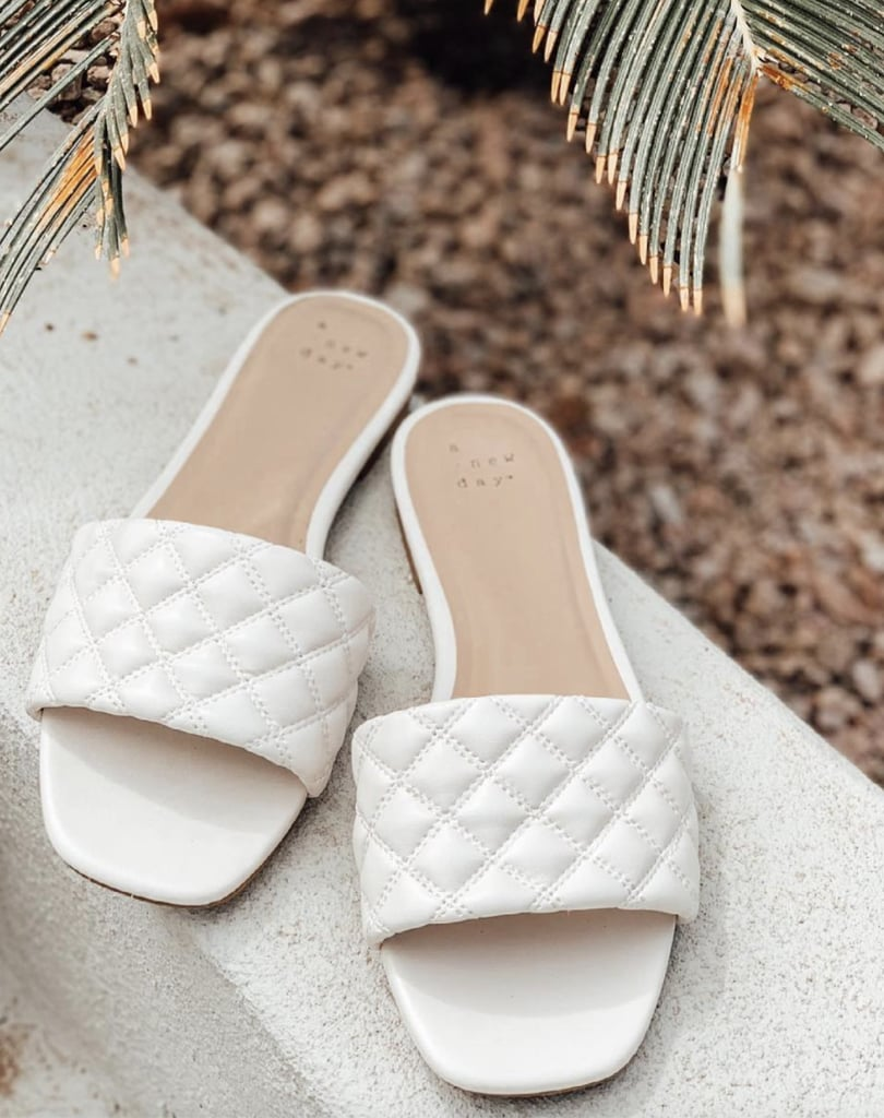 A New Day Quilted Slide Sandals