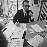Karl Lagerfeld took over as chief designer in 1983.
