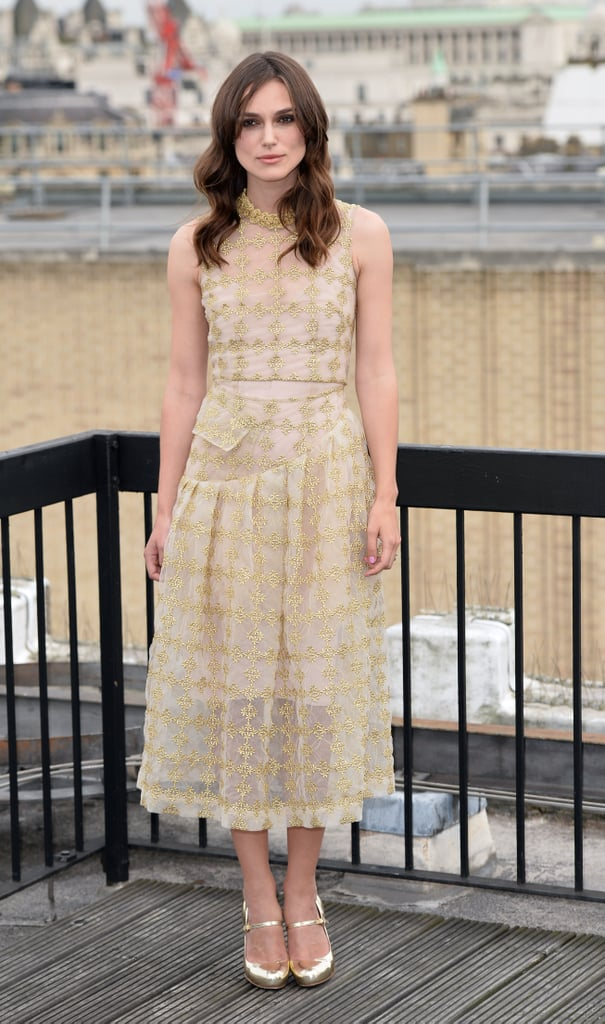 Keira Knightley at a Photocall for Begin Again