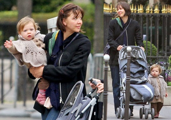 Naomi Foner, Maggie Gyllenhaal, and Ramona Sarsgaard Out in Paris on March 2, 2008