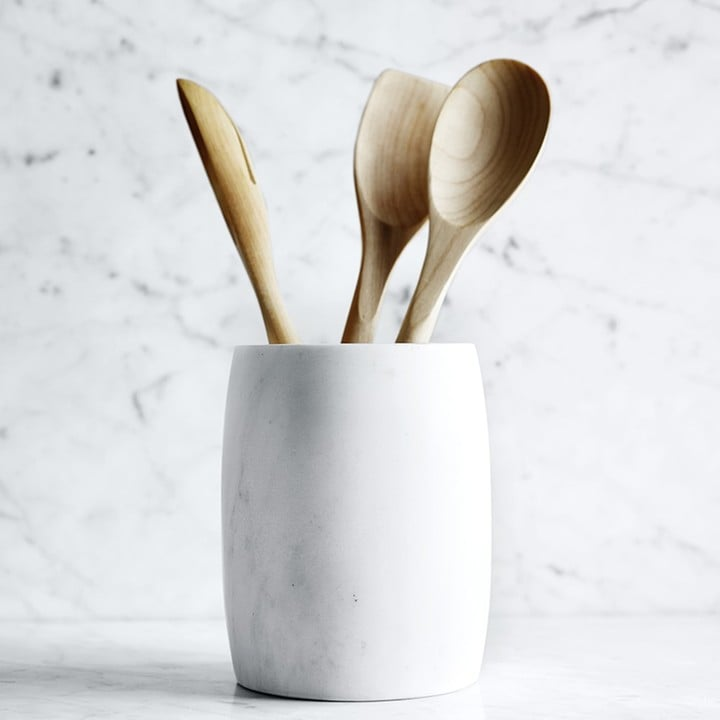 Williams-Sonoma Marble Utensil Holder ($60)