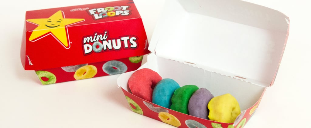 Froot Loops Doughnuts at Hardee's and Carl's Jr.