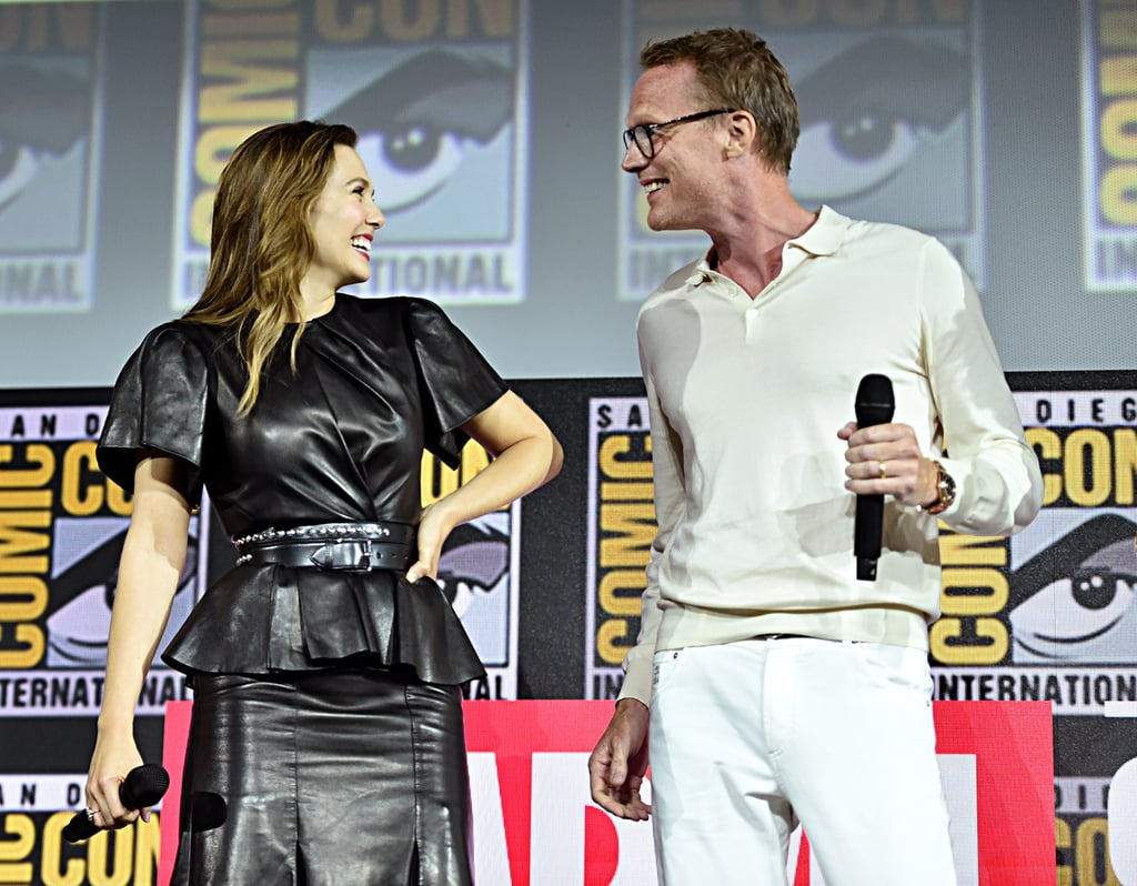 "Paul Bettany and Elizabeth Olsen are taking over the Marvel Cinematic Universe thanks to their Disney+ series, WandaVision. While the two have great chemistry on screen as superheroes Vision and Wanda, it's their real-life friendship that has us grinning from ear to ear. Over the years, the costars have shared a handful of cute moments together as they laugh it up at movie premieres or joke around during press interviews.  On his favourite part about working with Elizabeth, Paul told Entertainment Weekly, ""I love working with Lizzie for a number of reasons. She's incredibly punctual. And, I am too, and it drives me nuts when people are late. And, she's never lazy. She's fastidious. She always comes to set with an idea."" Elizabeth said that doing WandaVision together really brought out their ""inner children."" ""We're just hamming it up like we have never done in our careers before and it has been a ball,"" she added. See their cutest friendship moments ahead.       Related:                                                                                                           A Thorough Breakdown of All the Marvel Easter Eggs on WandaVision"