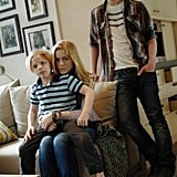 Jakob Salvati, Erin Moriarty, and Sterling Beaumon in Red Widow.