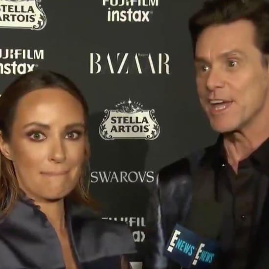 Jim Carrey Interview at New York Fashion Week 2017
