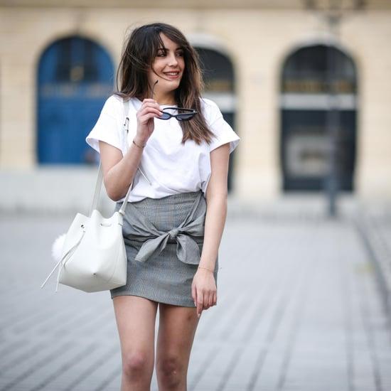 Wrap Miniskirt Trend