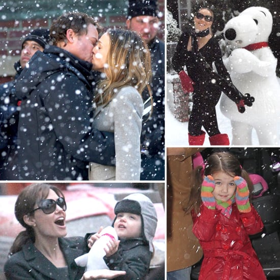 Pictures of Celebrities in the Snow 2011-01-28 14:00:16