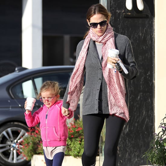 Jennifer Garner With Seraphina After the SAG Awards