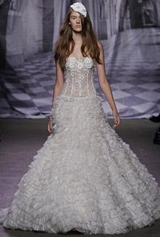 Monique Lhuillier Bridal Fall 2010