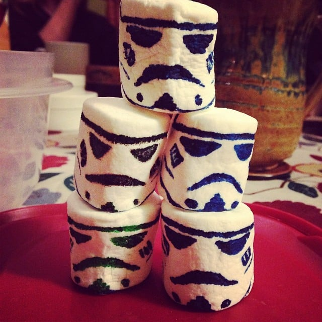 2. The Girl Who Masterfully Made Stormtrooper Marshmallows