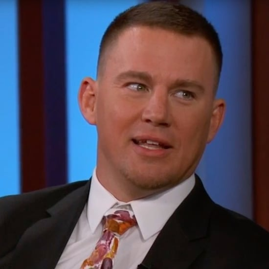 Channing Tatum on Jimmy Kimmel Live July 2017