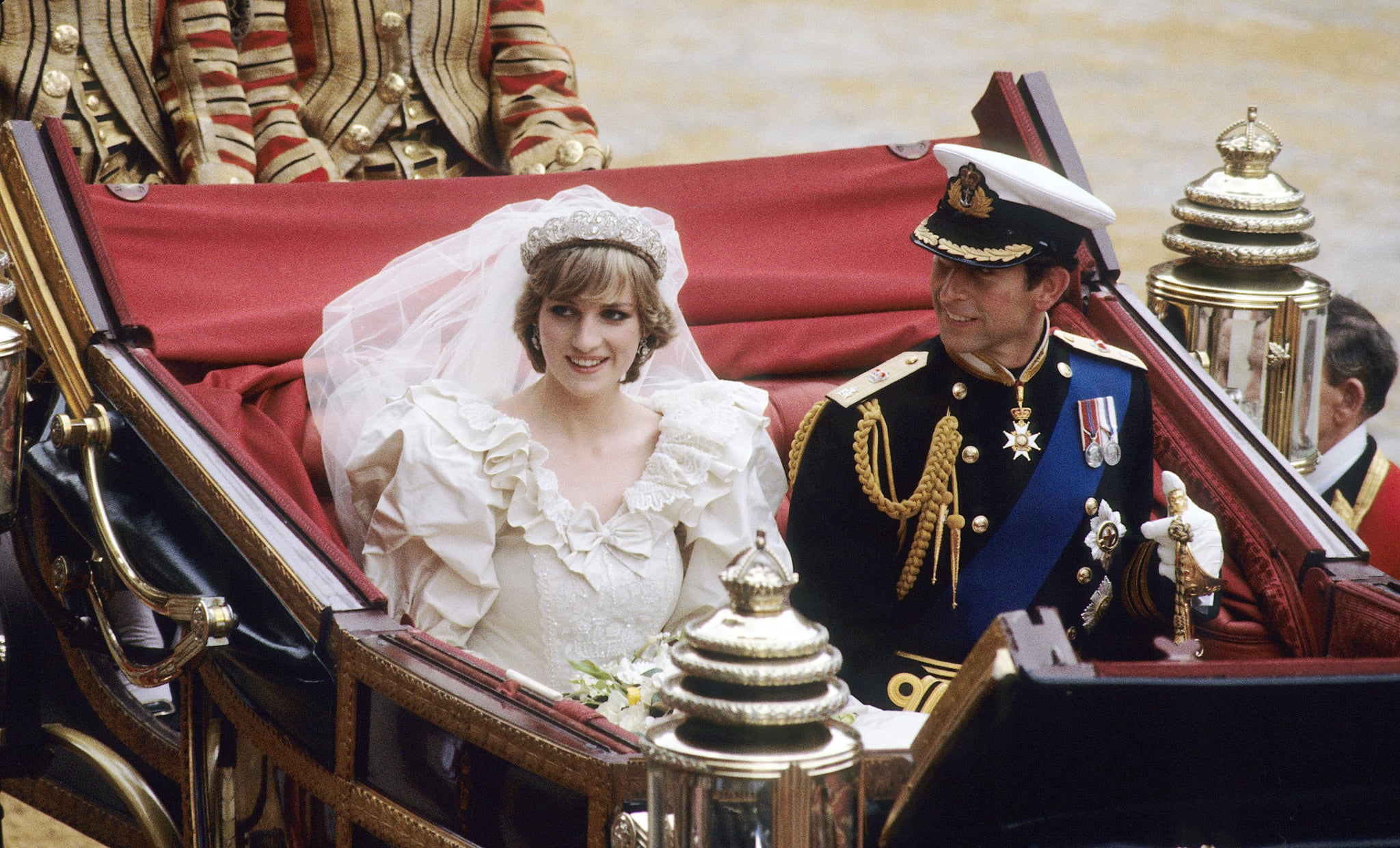 Diana And Charles Wedding.Princess Diana And Prince Charles Wedding Facts Popsugar