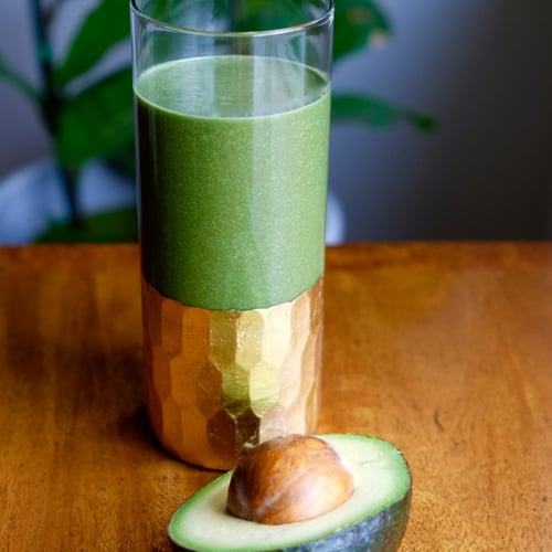 detoxing green smoothie recipe popsugar fitness. Black Bedroom Furniture Sets. Home Design Ideas