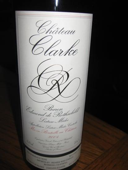 Happy Hour: 2004 Château Clarke Listrac-Médoc