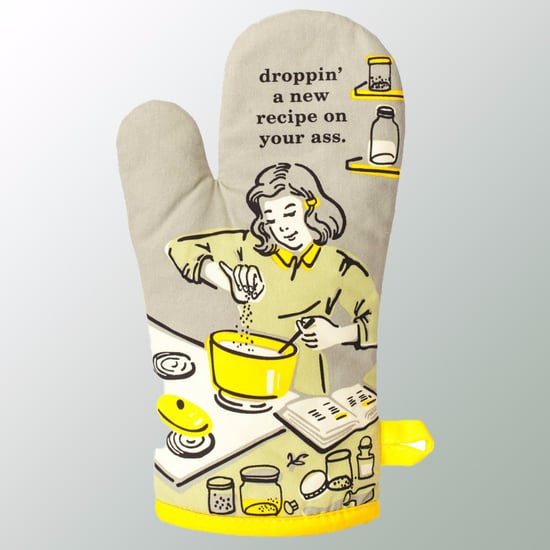 Curse-Word Oven Mitts