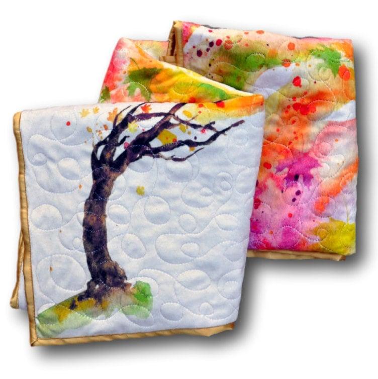 Rainbow Baby Tree Quilt