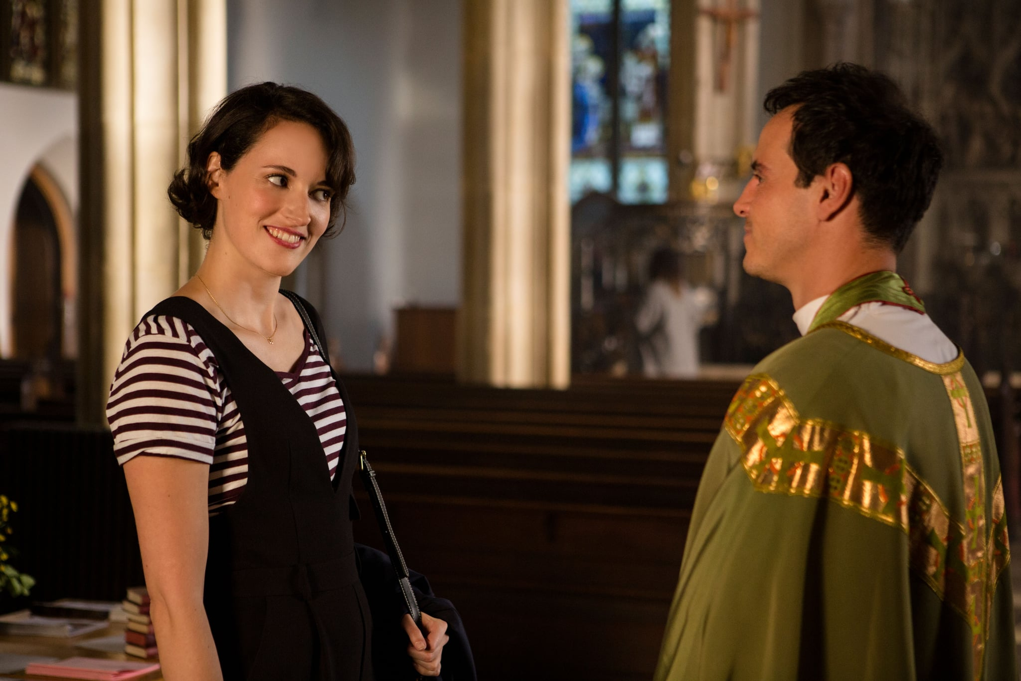 FLEABAG, from left: Phoebe Waller-Bridge, Andrew Scott, (Season 2, ep. 202, aired May 17, 2019). photo: Amazon / courtesy Everett Collection