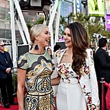 Julianne Hough and Nina Dobrev Are Having the Best Girls' Night at the AMAs