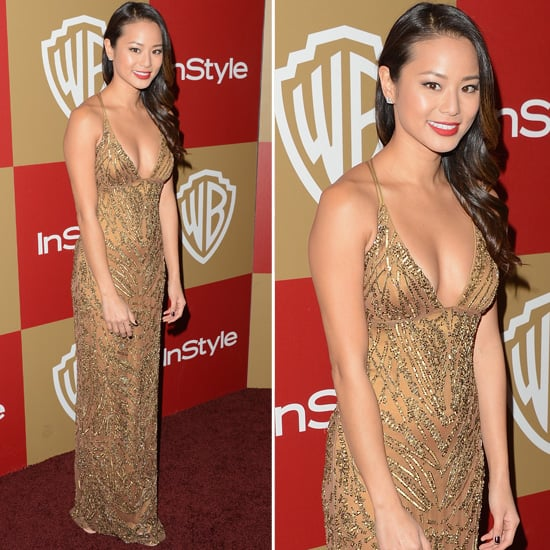 Jamie Chung Golden Globes Party Fashion 2013