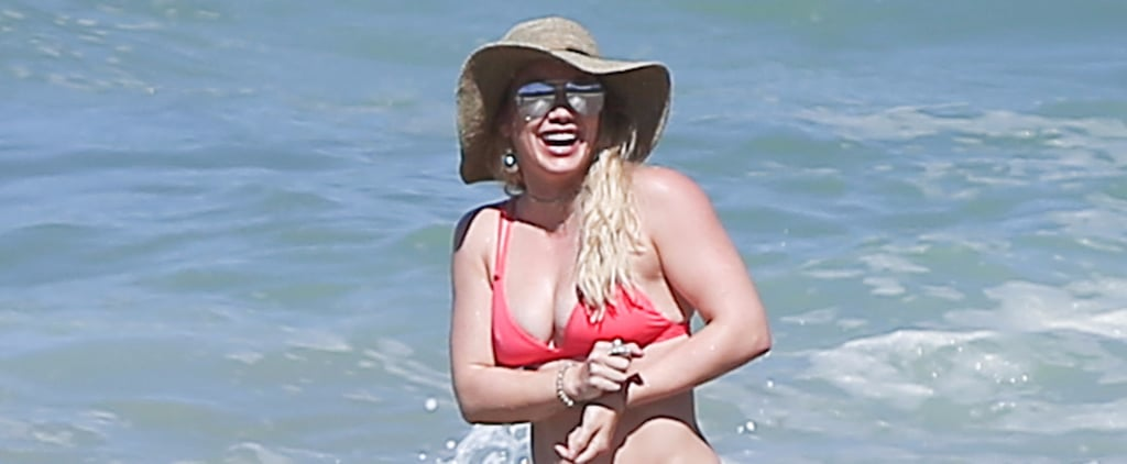 Someone Call the Fire Department — Hilary Duff's Bikini Body Is Way Too Hot