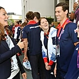 Prince Harry Horses Around With Kate Middleton at the Olympics