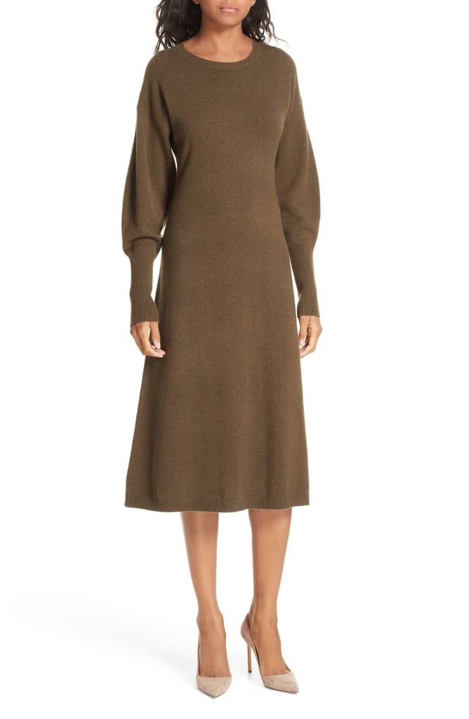 Nordstrom Signature Cashmere Blend Sweater Dress Comfortable