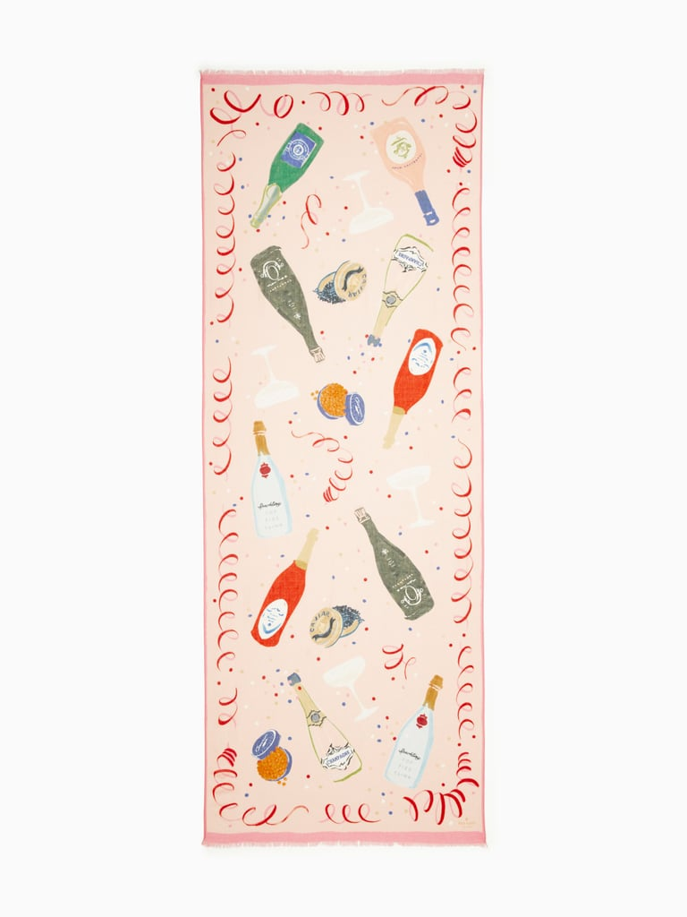 Kate Spade Champagne Oblong Scarf