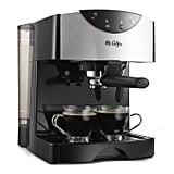 Mr. Coffee 2 Shot Pump Espresso & Cappuccino Maker