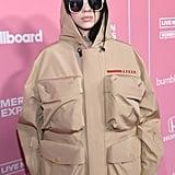 Billie Eilish Wearing Prada at Billboard Women in Music