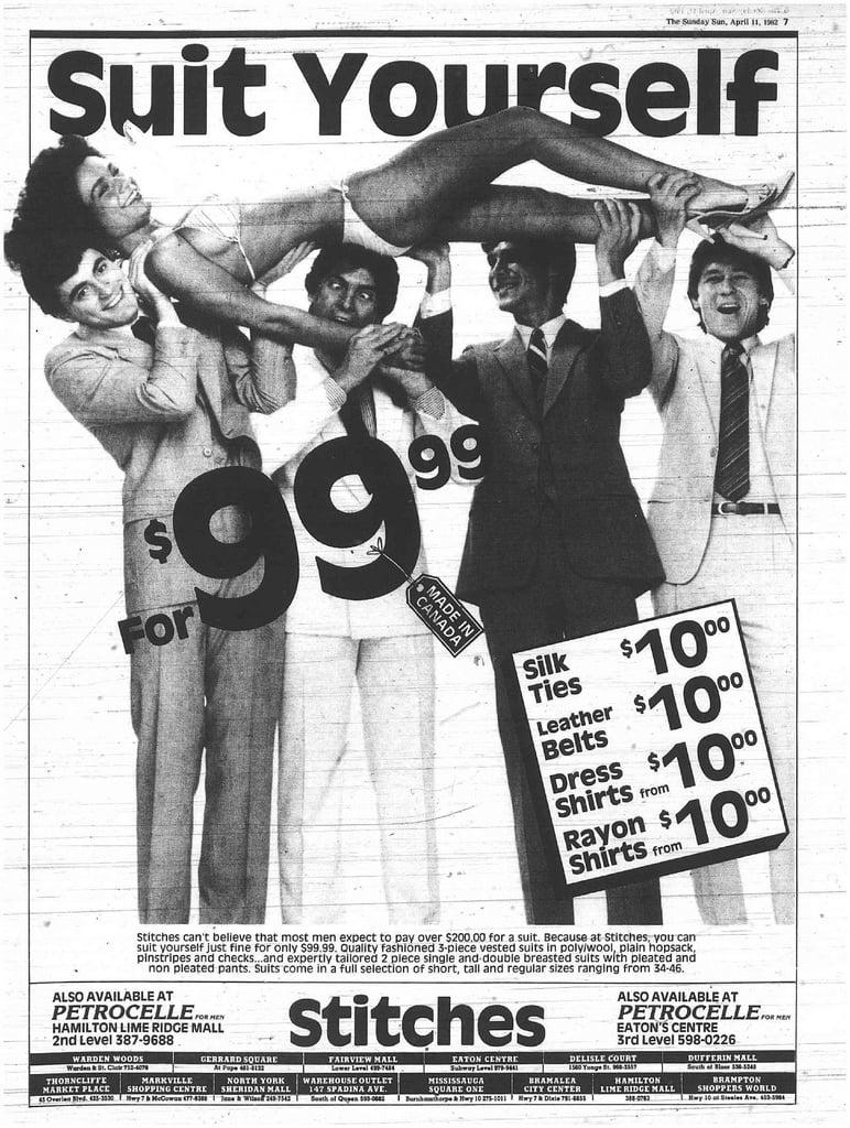 What A Punny Punny Ad Funny Men S Vintage Ads