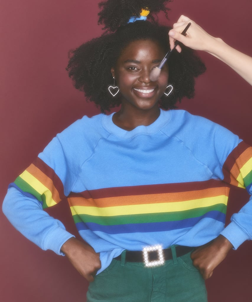 Saturday School Todays Hits Rainbow Sweatshirt