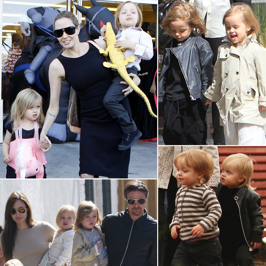 Happy Fifth Birthday to Jet-Setting Twins Knox and Vivienne Jolie-Pitt