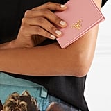 Prada Textured Leather Wallet