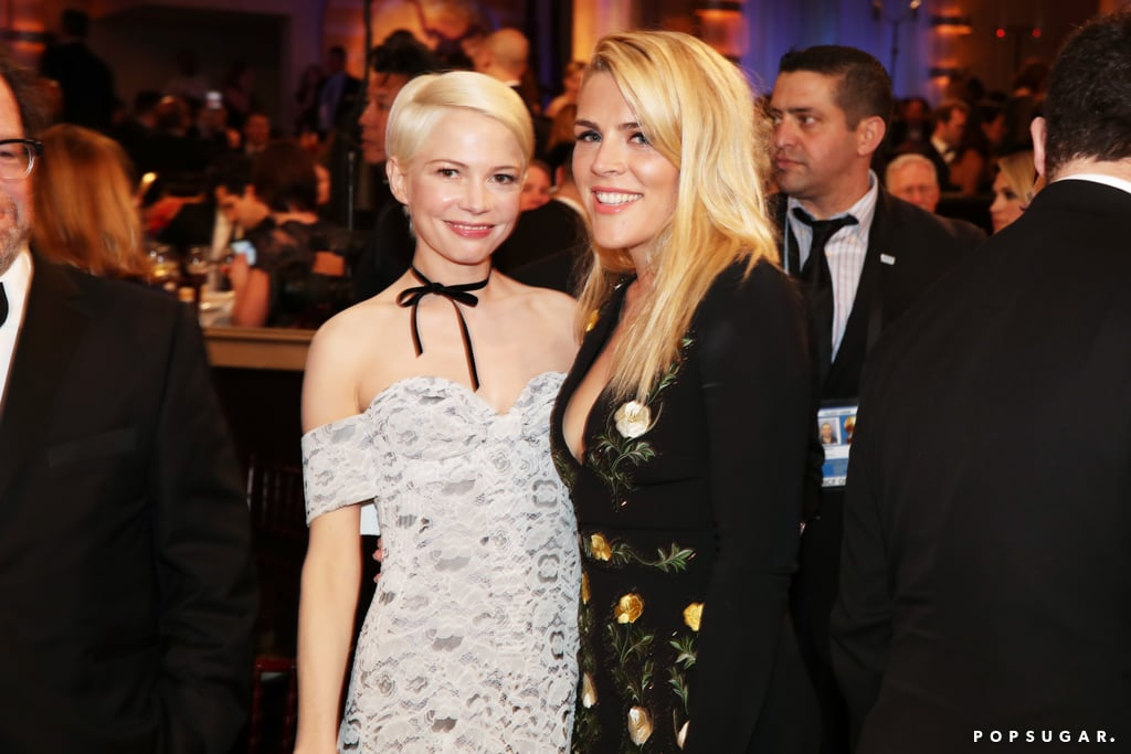 Michelle Williams and Busy Philipps were the ultimate BFF dates.